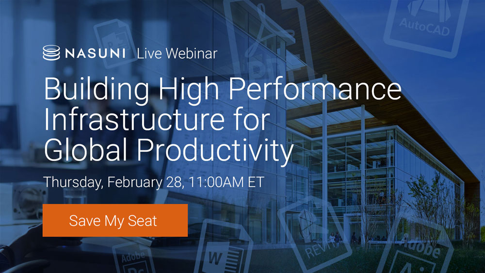 Building High Performance Infrastructure for Global Productivity